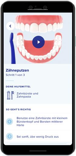 Darstellung ParoCure App